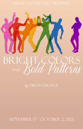 BRIGHT COLORS AND BOLD PATTERNS poster